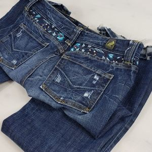 Kasil Jeans - Kasil By David Lim Flared Jeans